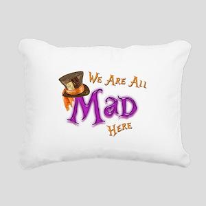 All Mad Rectangular Canvas Pillow