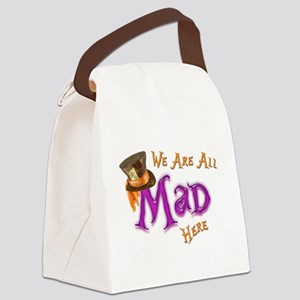 All Mad Canvas Lunch Bag