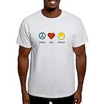 Peace.Love.Braces Light T-Shirt