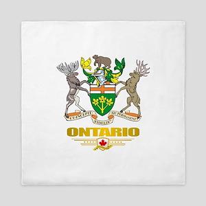 Ontario COA Queen Duvet