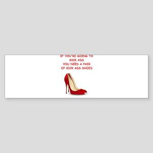 red high heels Bumper Sticker
