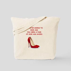 red high heels Tote Bag