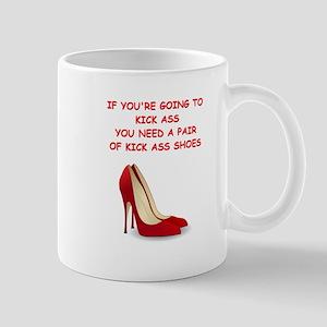 red high heels Mugs