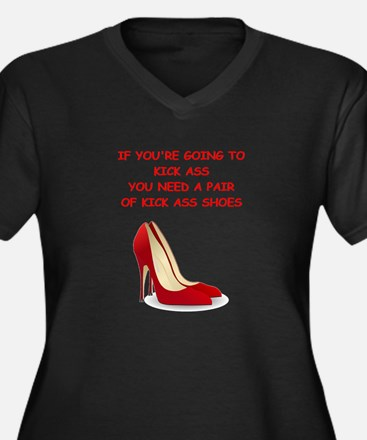 red high heels Plus Size T-Shirt