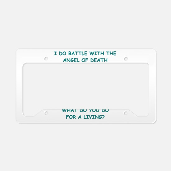 nursing License Plate Holder