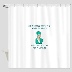 nursing Shower Curtain