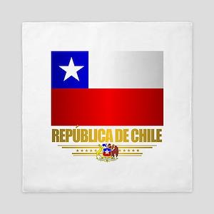 Flag of Chile Queen Duvet