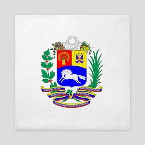 Venezuela COA Queen Duvet