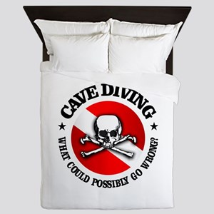 Cave Diving (Skull) Queen Duvet