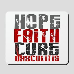 Vasculitis Hope Faith Cure 1 Mousepad