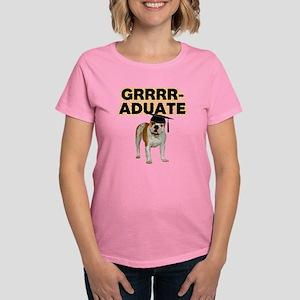 Graduation Bulldog Women's Dark T-Shirt