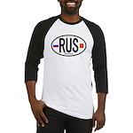 Russia Euro-style Code Baseball Jersey