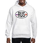 Russia Euro-style Code Hooded Sweatshirt