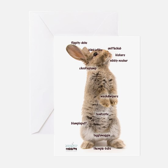 Bunny Bits Greeting Cards