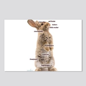Bunny Bits Postcards (Package of 8)