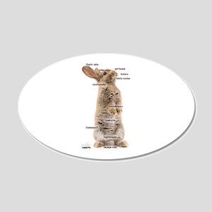 Bunny Bits Wall Sticker