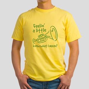 Feeling a Little Horny Yellow T-Shirt
