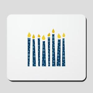 Hanukkah Candles Mousepad