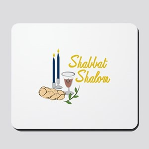 Shabbat Shalom Mousepad