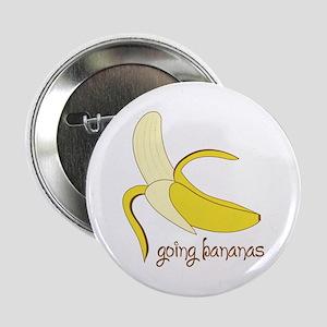 """Going Bananas 2.25"""" Button"""