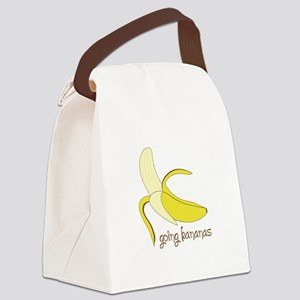 Going Bananas Canvas Lunch Bag