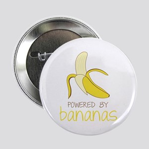 """Powered By Bananas 2.25"""" Button"""