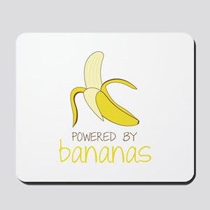 Powered By Bananas Mousepad