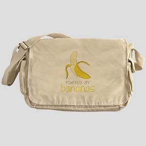 Powered By Bananas Messenger Bag