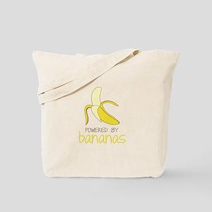 Powered By Bananas Tote Bag