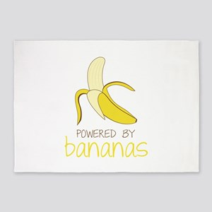 Powered By Bananas 5'x7'Area Rug