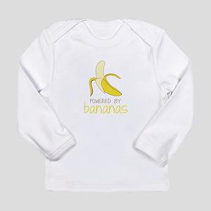 Powered By Bananas Long Sleeve T-Shirt