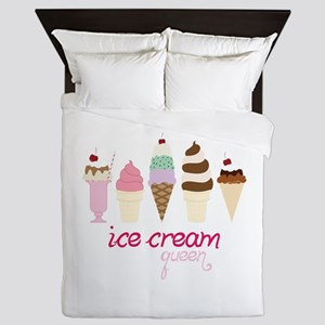Ice Cream Queen Queen Duvet