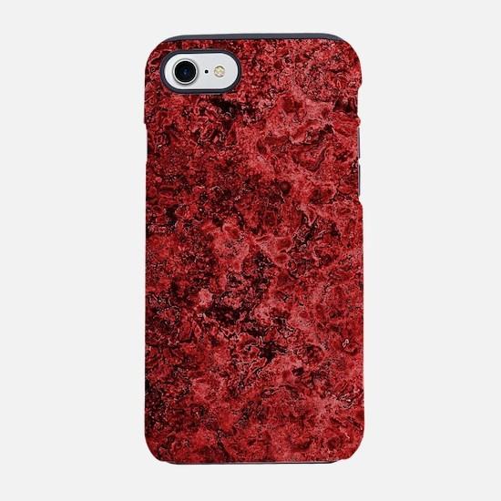 Lava Bloodstone iPhone 7 Tough Case