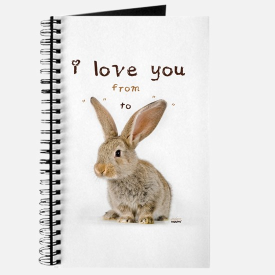 I Love You from Ear to Ear Journal