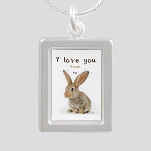 I Love You from Ear to Ear Necklaces