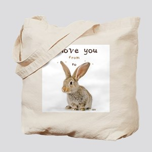I Love You from Ear to Ear Tote Bag