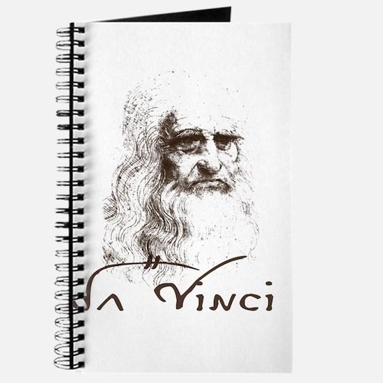 Da Vinci Black Journal