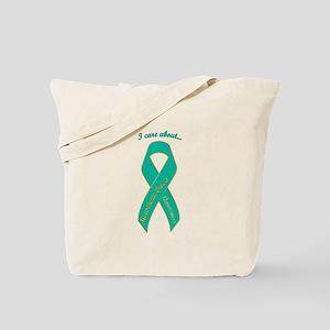 I Care About Myasthenia Gravis Tote Bag