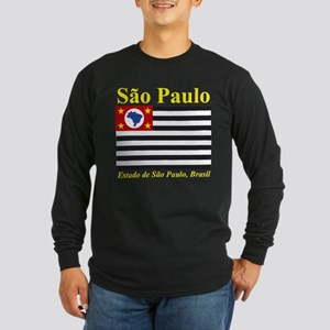 Sao Paulo (Yellow) Long Sleeve T-Shirt