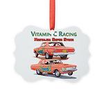 Vitamin C Racing Ornament