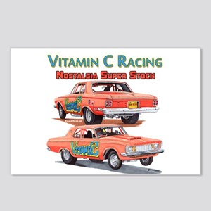 Vitamin C Racing Postcards (Package of 8)