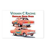 Vitamin C Racing Postcards (Package of 8)