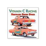 Vitamin C Racing Sticker