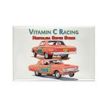 Vitamin C Racing Magnets