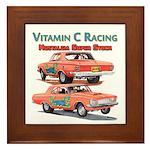 Vitamin C Racing Framed Tile