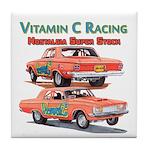 Vitamin C Racing Tile Coaster