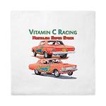 Vitamin C Racing Queen Duvet