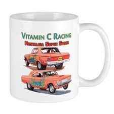 Vitamin C Racing Mugs