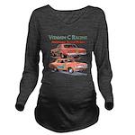 Vitamin C Racing Long Sleeve Maternity T-Shirt