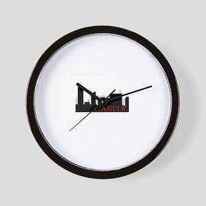 Castle NYC Wall Clock